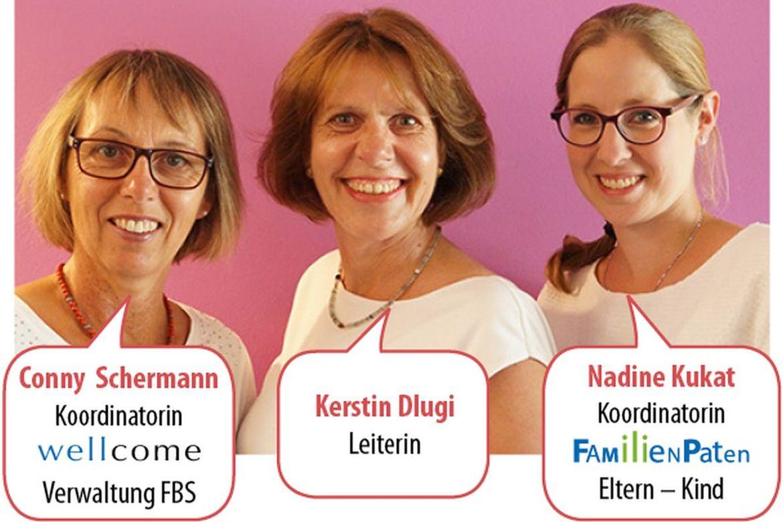 Drei Frauen mit Sprechblasen - Copyright: Ev.-Luth. Kirchengemeinde Schwarzenbek