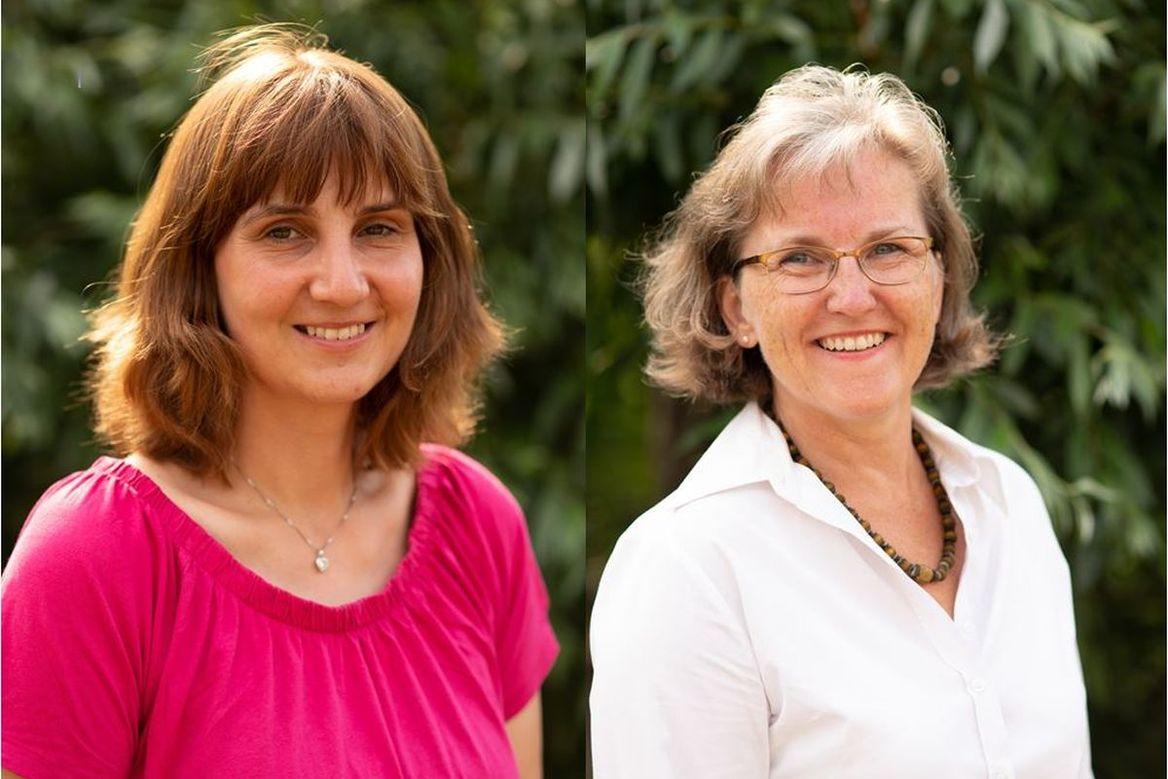 Zwei Frauen die lächelnd in die Kamer blicken - Copyright: KG Schwarzenbek