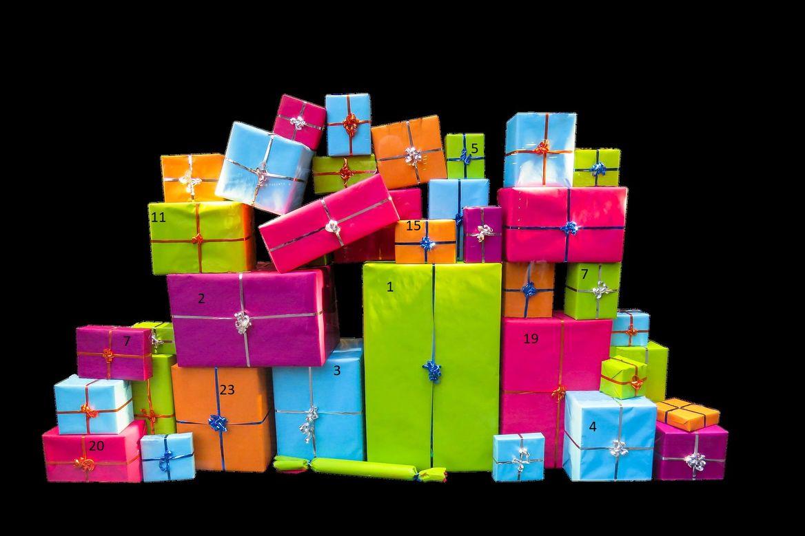 Geschenke mit Zahlen - Copyright: Gerhard_Gellinger_pixabay